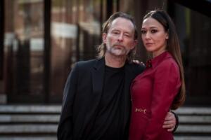 Thom Yorke e Danjana Roncione