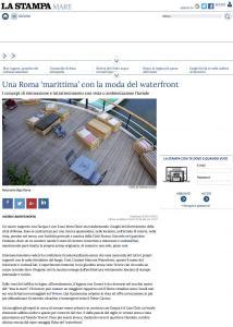 Una Roma 'marittima' con la moda del waterfront - La Stampa