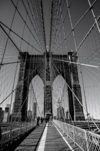 Brooklyn bridge - N.Y.